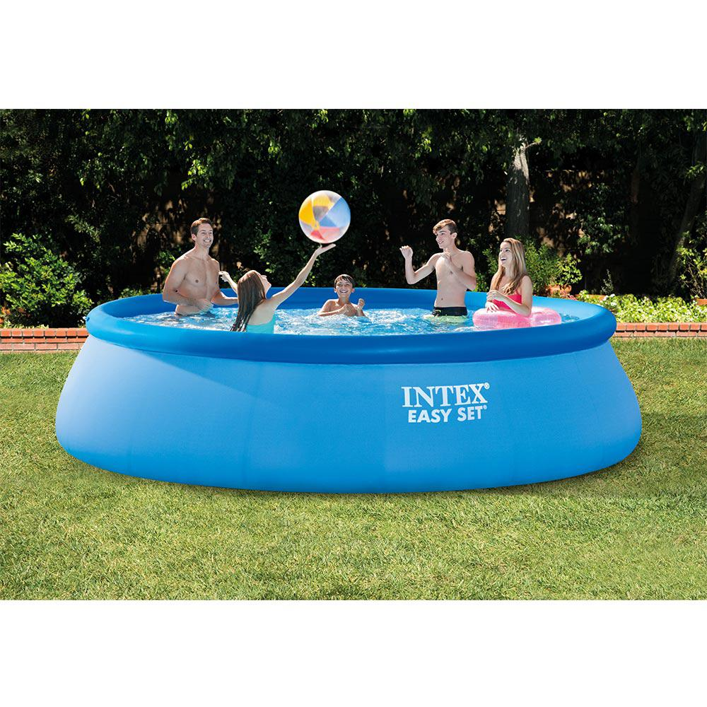 Intex Easy Set 15 ft. Round x 42 in. Deep Inflatable Pool