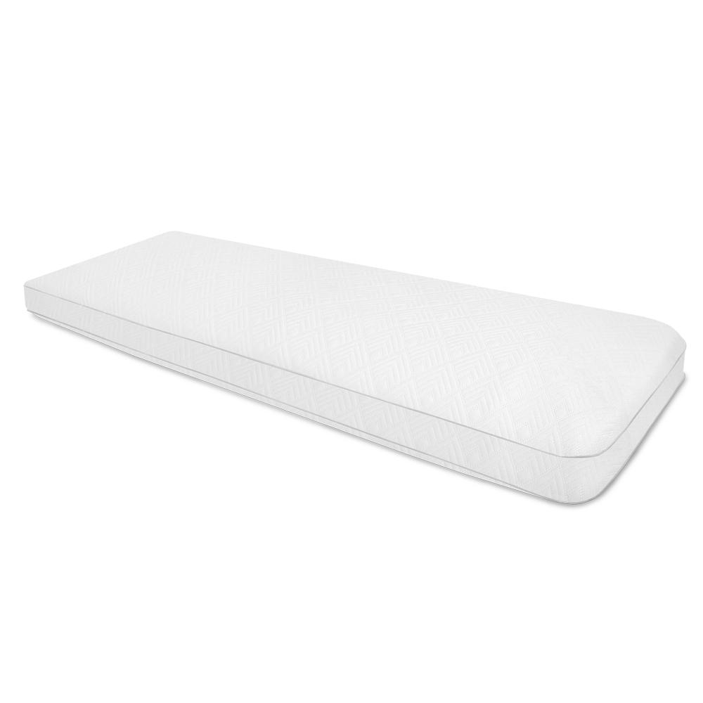 Cooling Memory Foam Standard Body Pillow, White