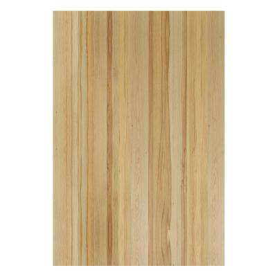 0.1875x34.5x23.25 in. Matching Base Cabinet End Panel in Natural Hickory (2-Pack)
