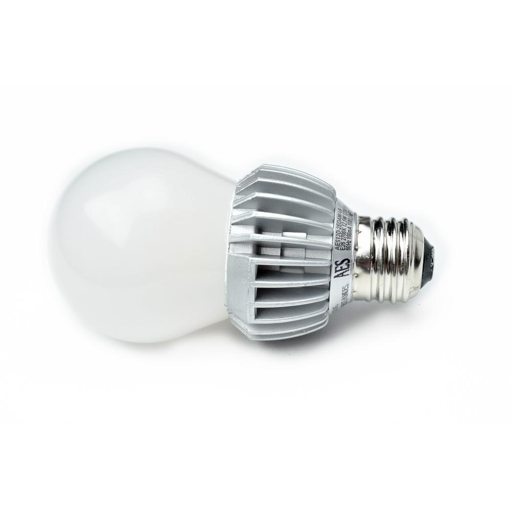 75W Equivalent Warm White (2700K) Dimmable Energy Star A 19 LED