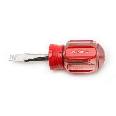 3/16 in. x 1-1/2 in. Stubby Slotted Screwdriver
