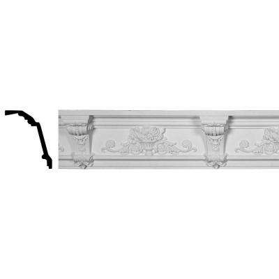 6-5/8 in. x 7-7/8 in. x 96 in. Polyurethane Jonee Barsom Crown Moulding