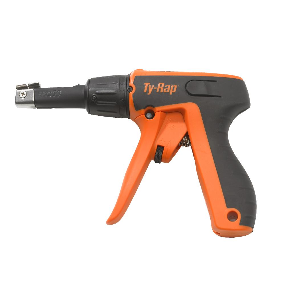 Zip Tie Gun >> Tyrap Ergonomic Hand Gun For Nylon Cable Ties