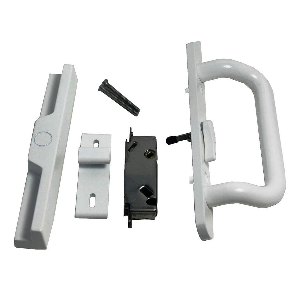 Barton Kramer 3 516 In Center Lever Surface Mount Patio Door Lock