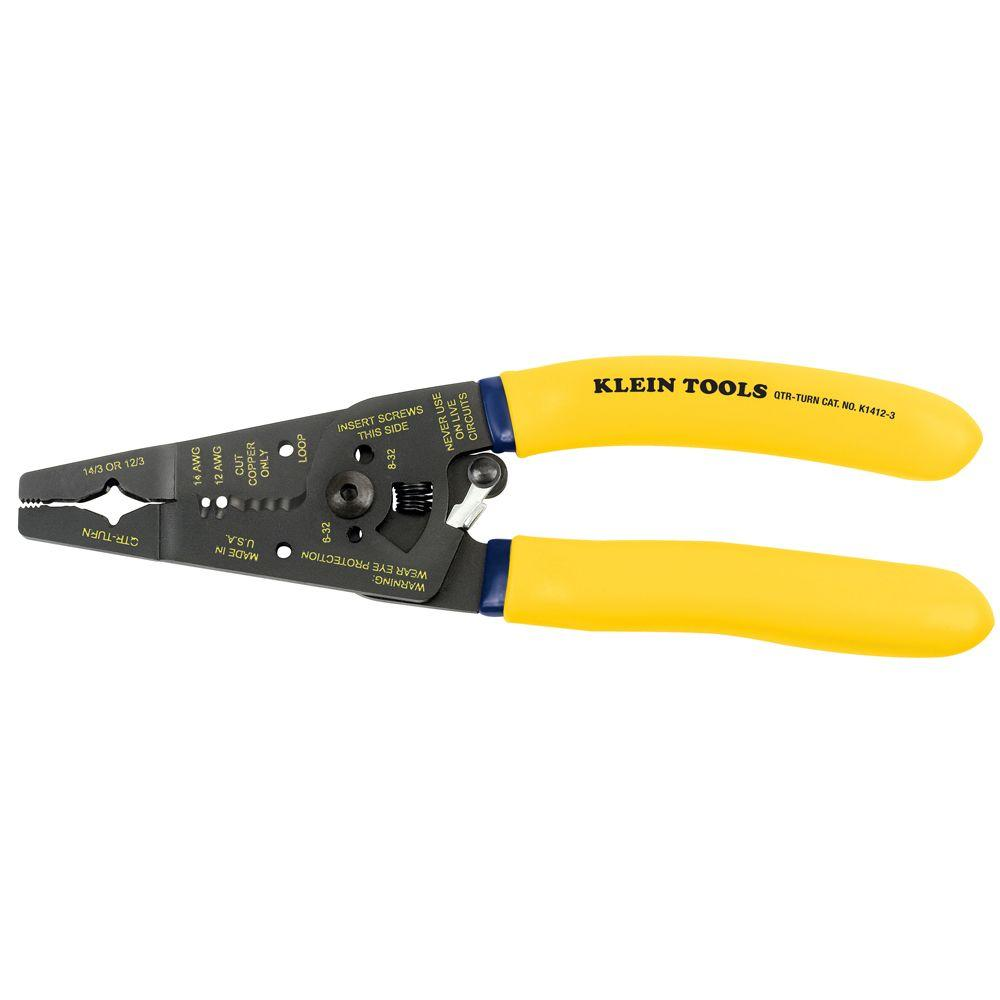 Klein Tools Non-Metallic Cable Stripper/Cutter-DISCONTINUED