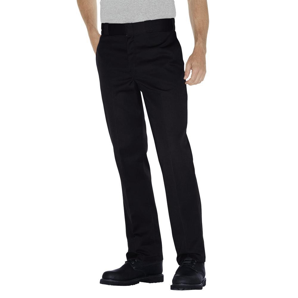 Original 874 Men's 36 in. x 30 in. Black Work Pant