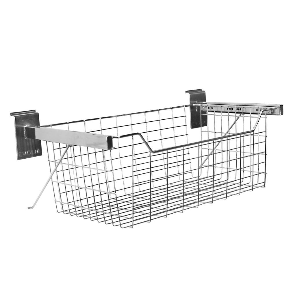 Evolia Pull Out Basket in Chrome