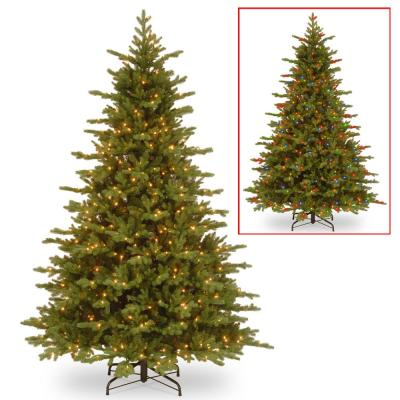 7.5 ft. PowerConnect Vienna Fir with Dual Color LED Lights