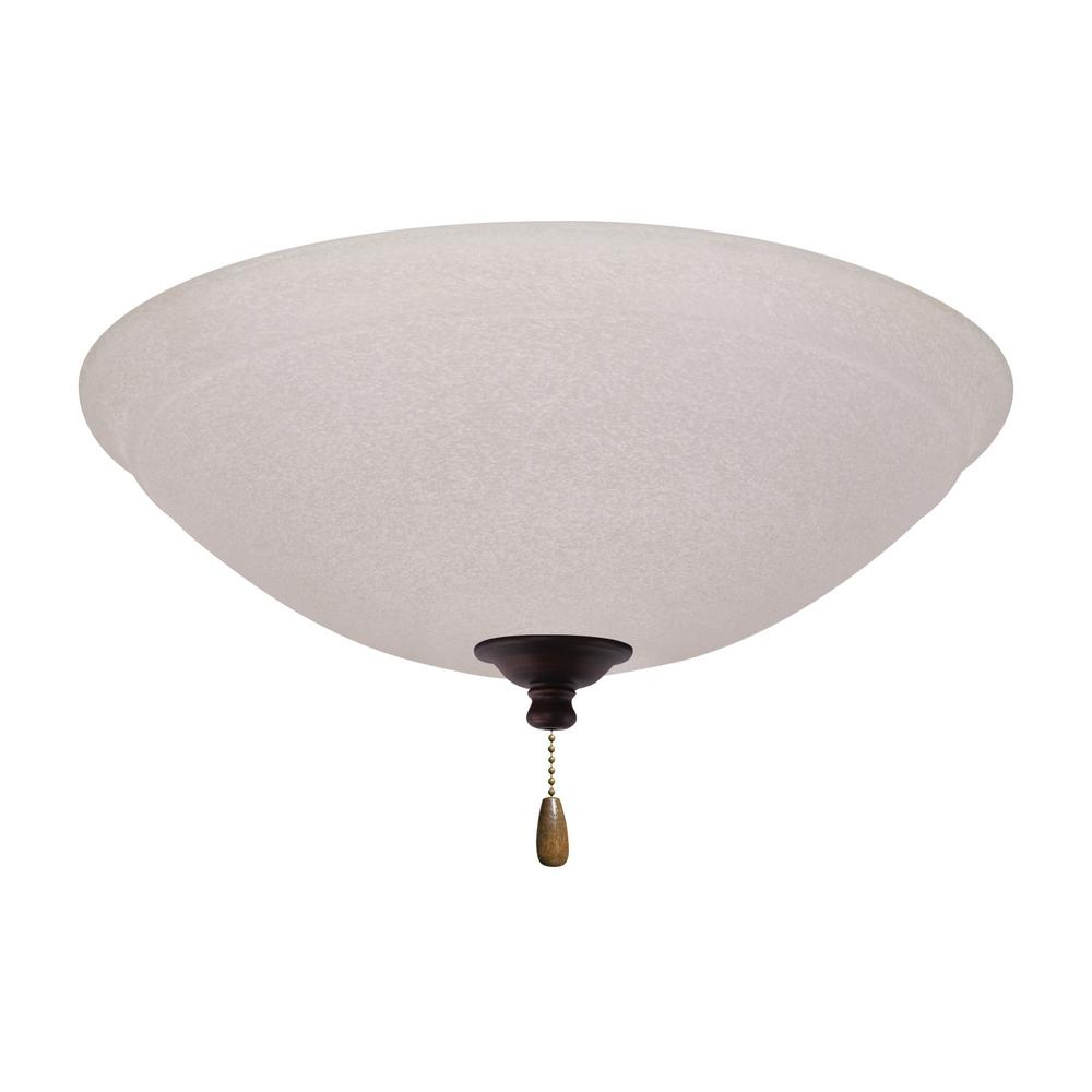 Westinghouse 1-Light LED Schoolhouse Ceiling Fan Light Kit ...