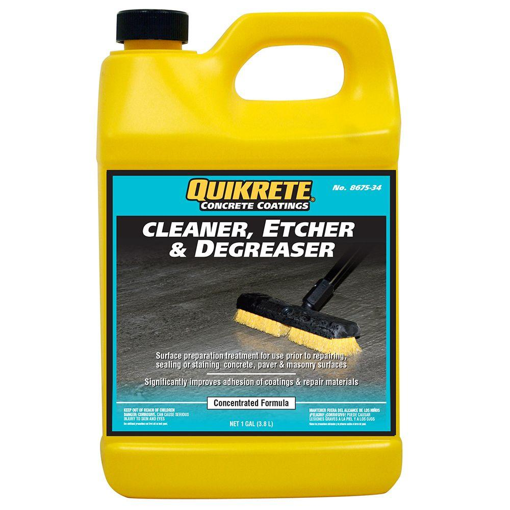 Quikrete 8 lb. 1 Gal. Concrete Cleaner Etcher and Degreaser