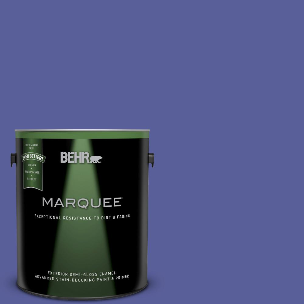 behr marquee 1 gal p550 6 wizard 39 s potion semi gloss. Black Bedroom Furniture Sets. Home Design Ideas