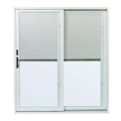 sliding glass doors with blinds between glass. 70-1/2 in. x 79-1/2 200 sliding glass doors with blinds between c