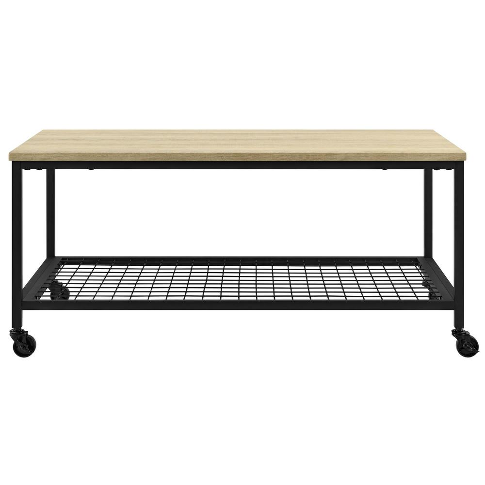 Ameriwood North Point Golden Oak Coffee Table