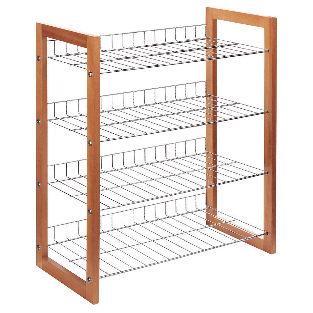 12-Pair Storage Shoe Shelf
