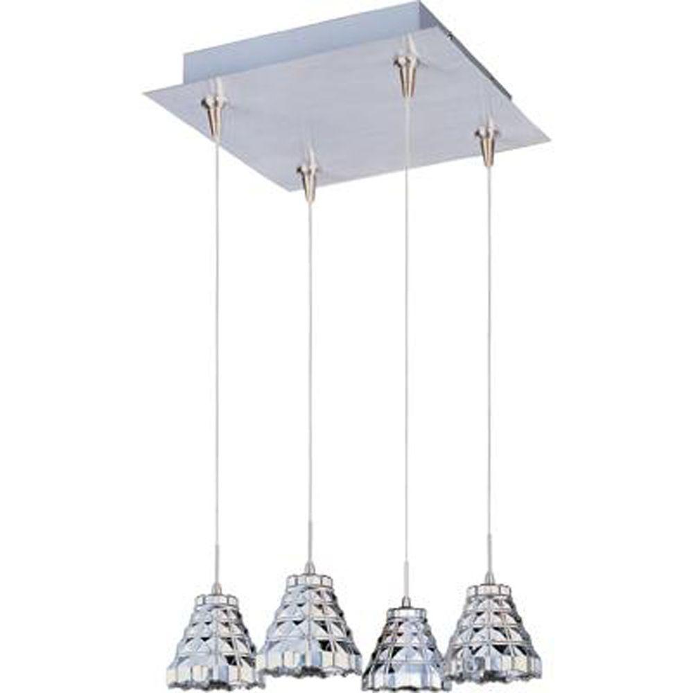 ET2 Geo 4-Light RapidJack Pendant and Canopy