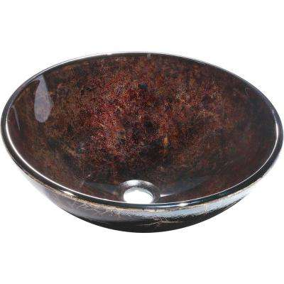 Charpenter Vessel Sink in Brown