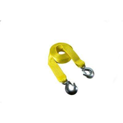 2 in. x 30 ft. Tow Strap with G-Clip Ends
