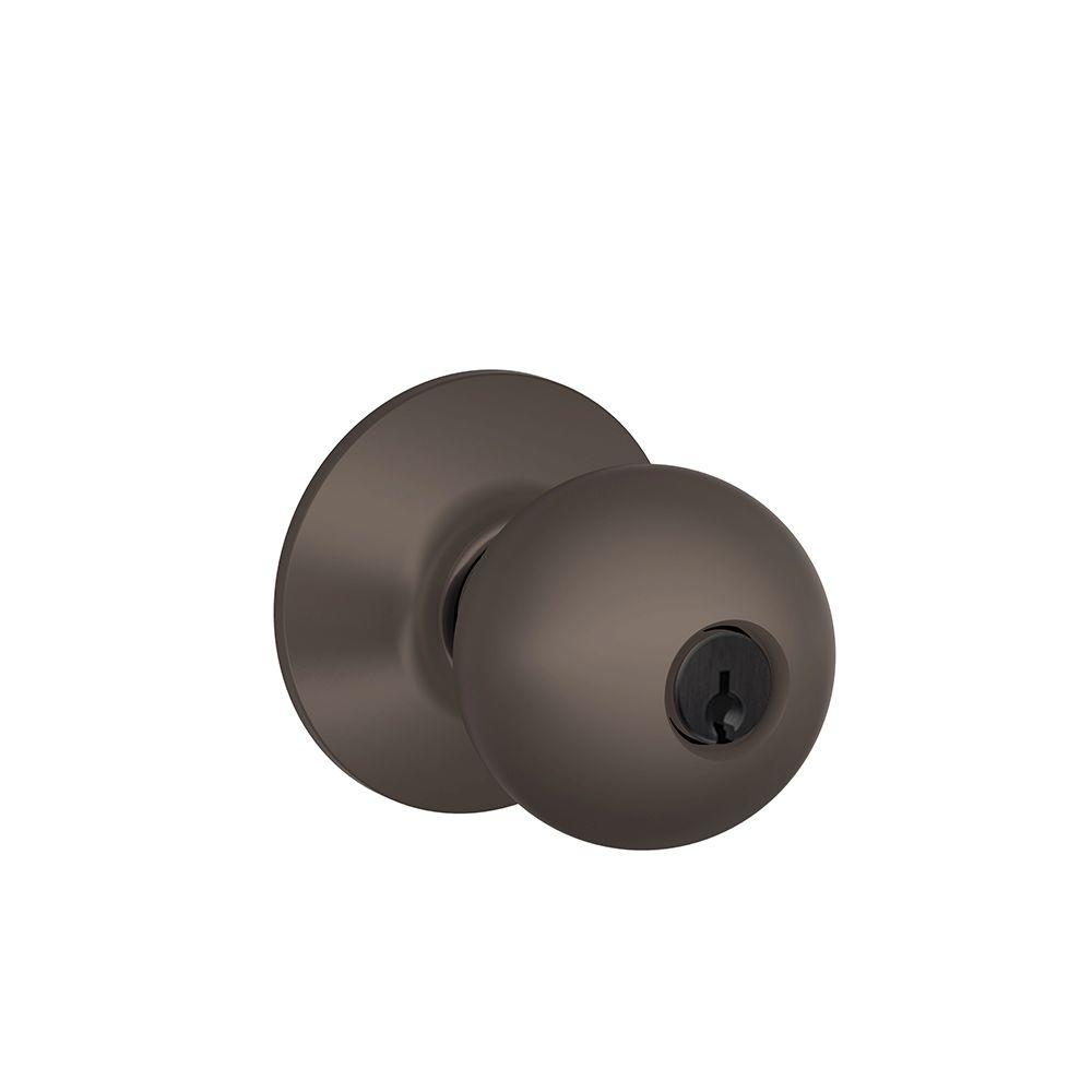 Orbit Oil-Rubbed Bronze Keyed Entry Knob