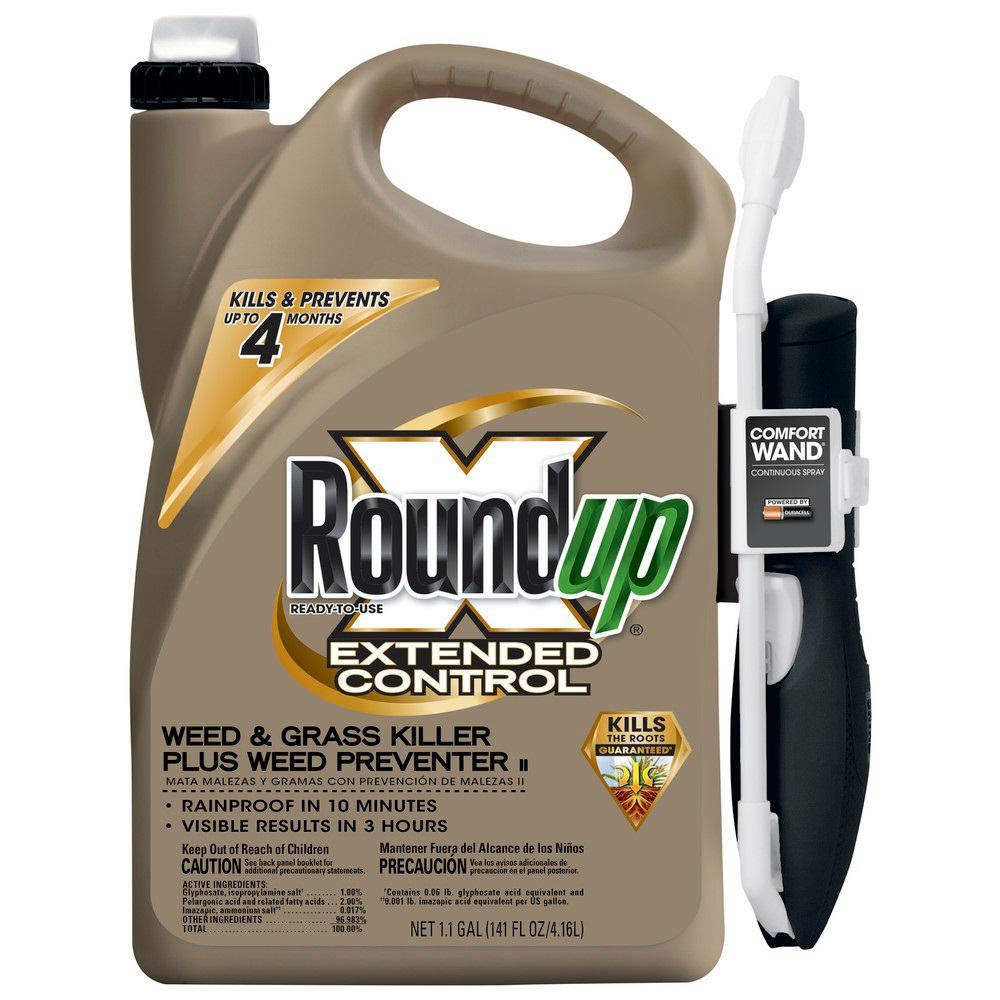 Roundup 1 1 Gal  Extended Control W and G Killer RTU Wand