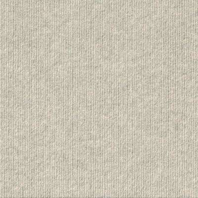 Premium Self-Stick First Impressions High Low Rib Oatmeal Texture 24 in. x 24 in. Carpet Tile (15 Tiles/60 sq. ft./case)