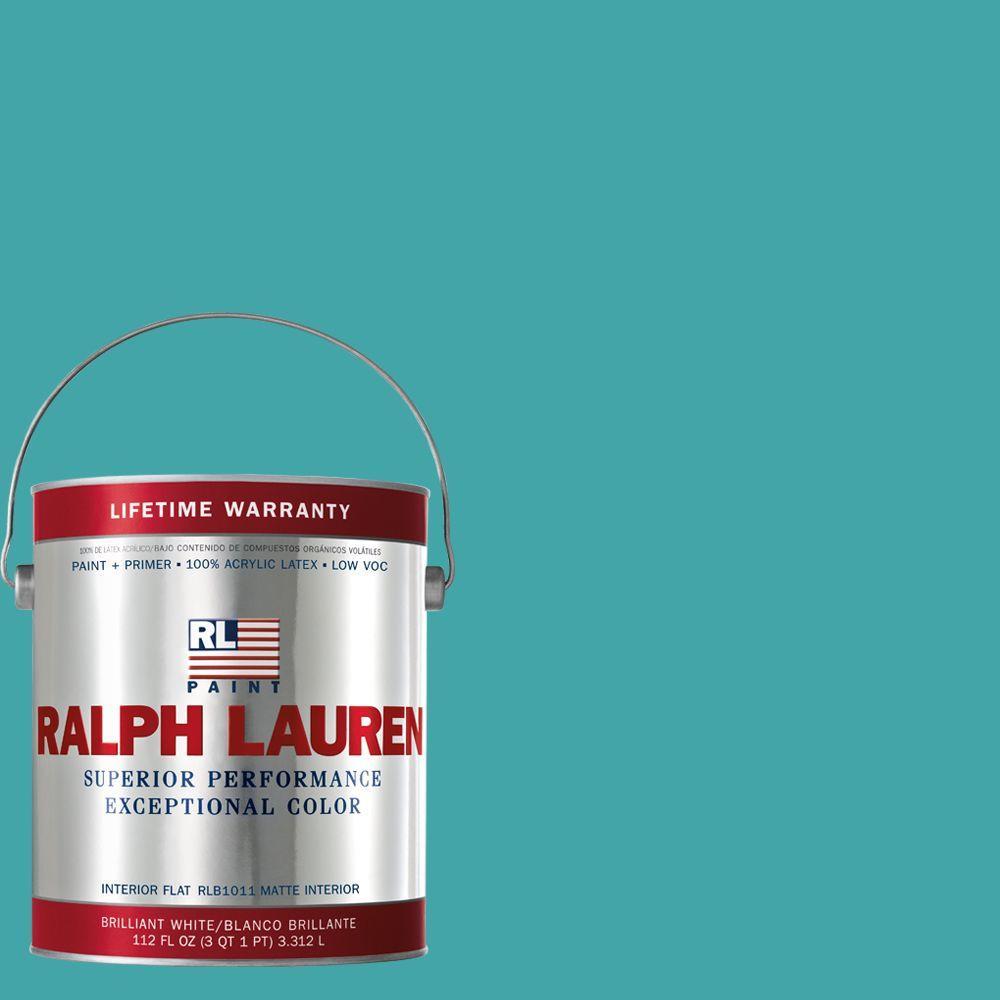 Ralph Lauren 1-gal. Blue Crab Flat Interior Paint