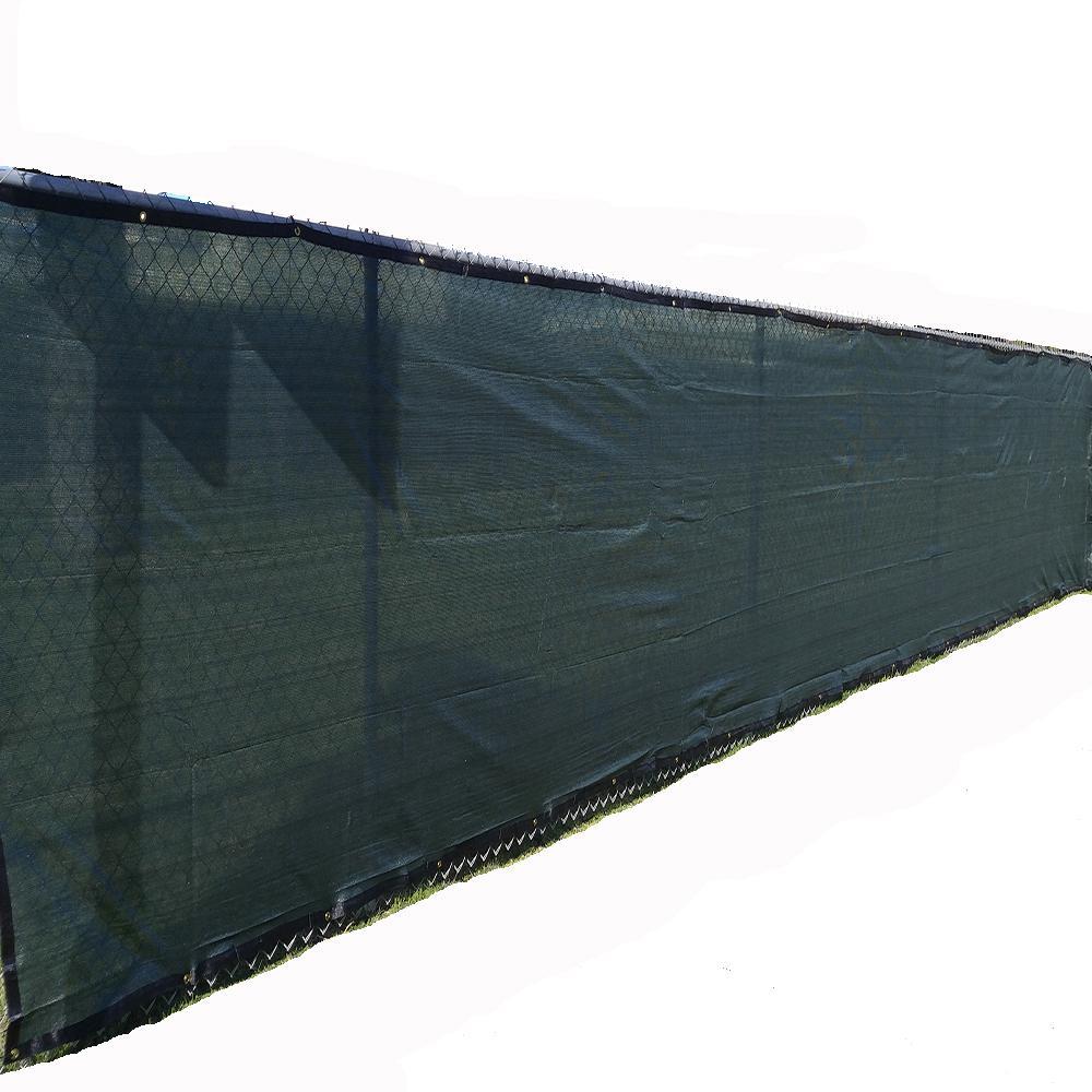 Xcel 72 In H X 300 In W Polyethylene Green Privacy
