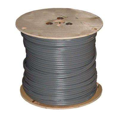 1000 ft. 12-3 Gray Solid CU UF-B W/G Cable