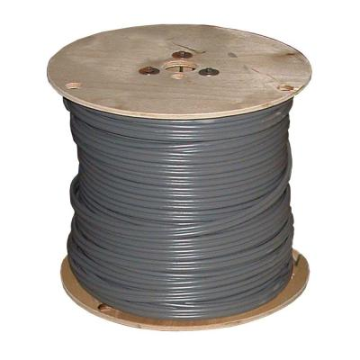1000 ft. 12/3 Gray Solid CU UF-B W/G Wire