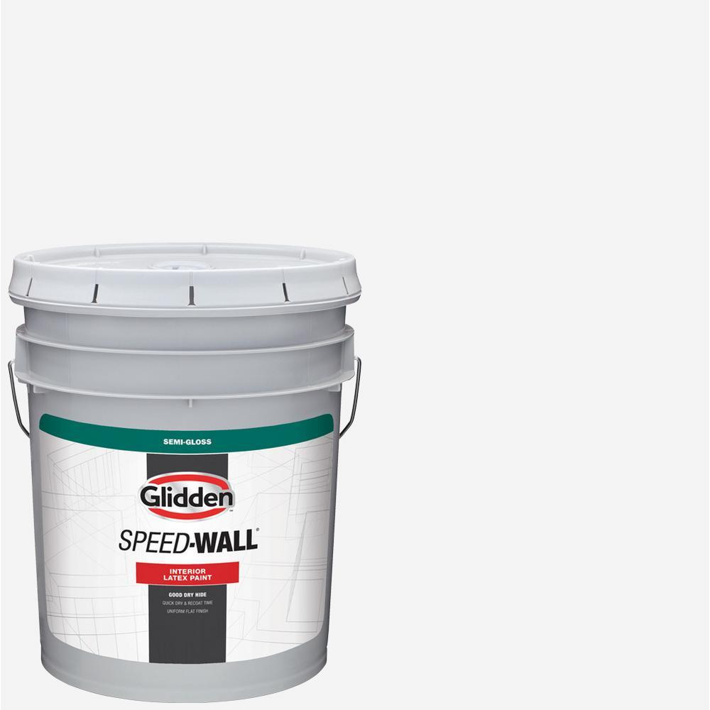 Glidden Pro At The Home Depot: Glidden Professional 5 Gal. Speed-Wall Semi-Gloss Interior