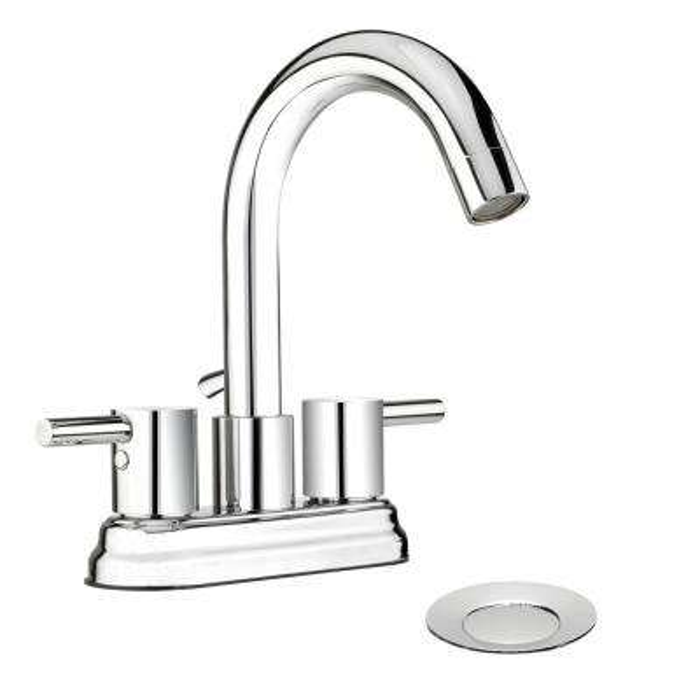 Belanger 4 in. Centerset 2-Handle Bathroom Faucet in Polished Chrome