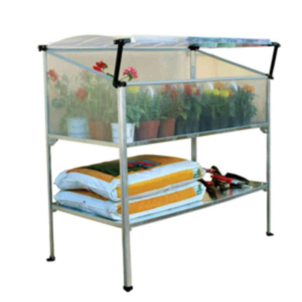 Palram 37.5 in. Grow Deck Herb Garden Mini Greenhouse-DISCONTINUED