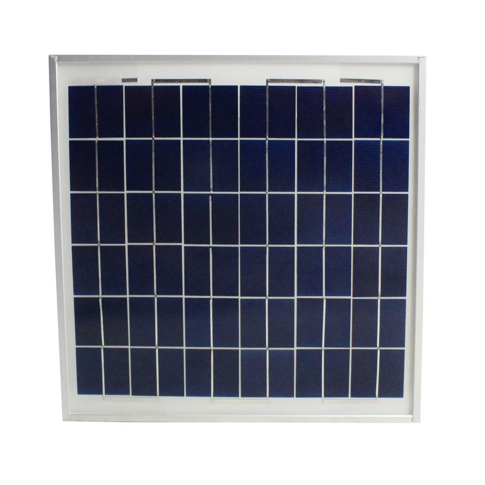 12.6-Watt Polycrystalline Solar Panel