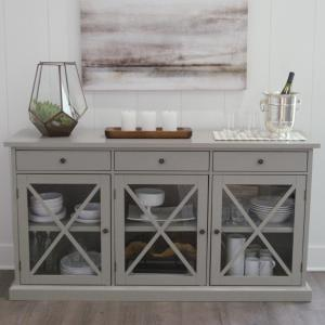 home decorators collection hampton grey buffet sk17912ar2 g the rh homedepot com Gray Painted Buffets and Sideboards Gray Buffet Cabinet