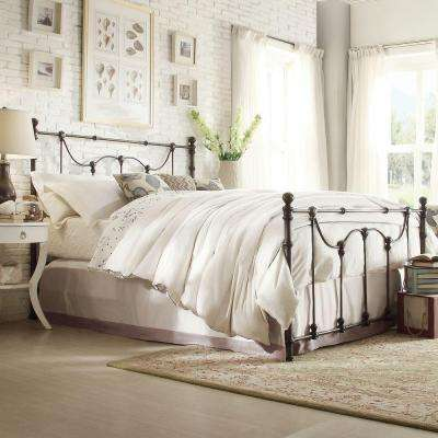Dorado Bronzed Black King Poster Bed