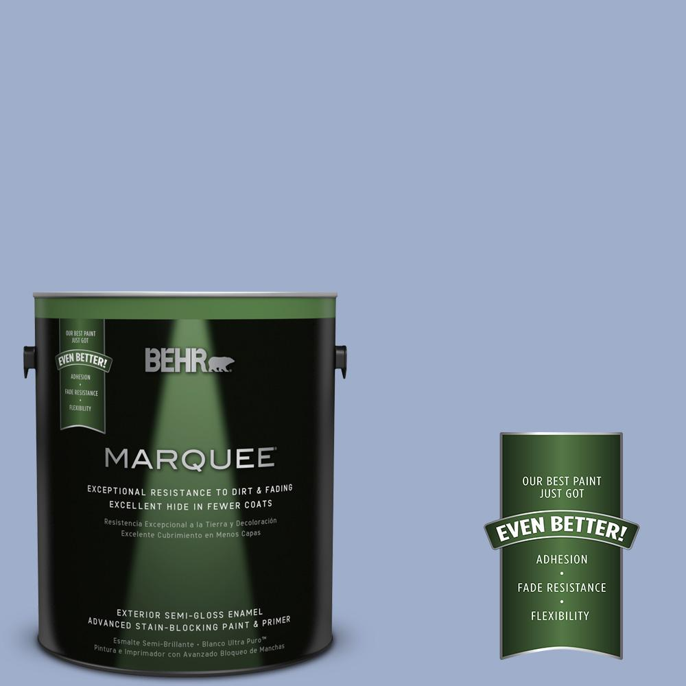 BEHR MARQUEE 1-gal. #MQ5-17 Poetry Reading Semi-Gloss Enamel Exterior Paint