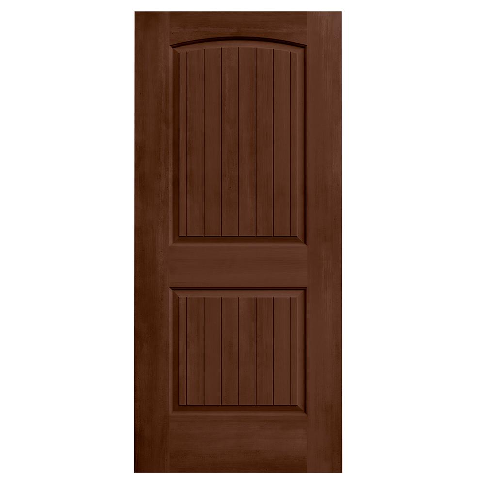 Jeld Wen 36 In X 80 In Santa Fe Milk Chocolate Stain