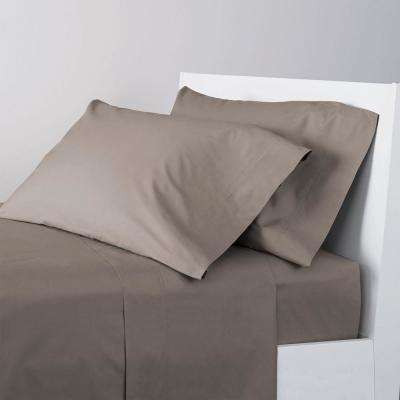 4-Piece 400 Thread Count Supima Percale Sheet Set