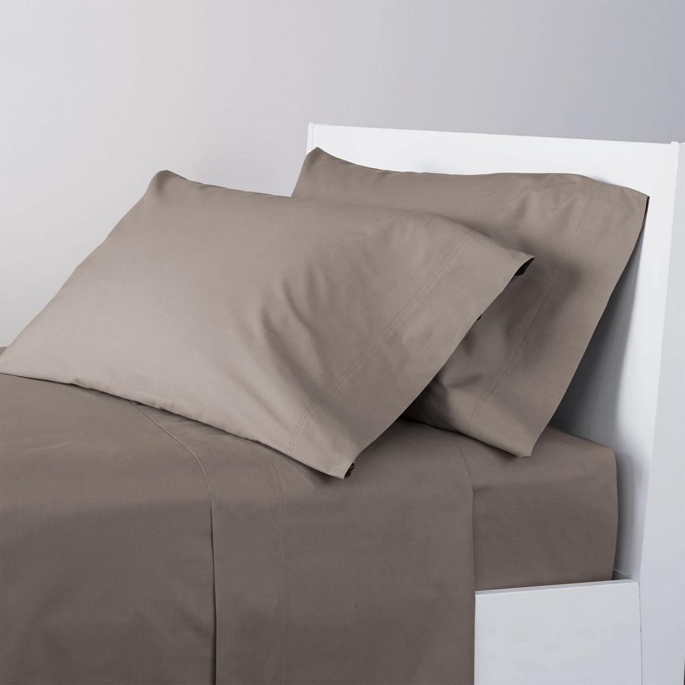 The Company 4 Piece Cinder 400 Thread Count Supima