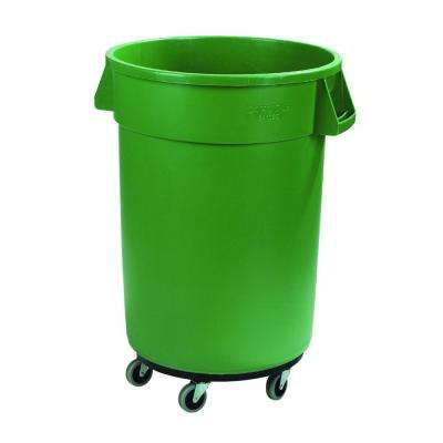 Bronco 32 Gal. Green Round Trash Can ...
