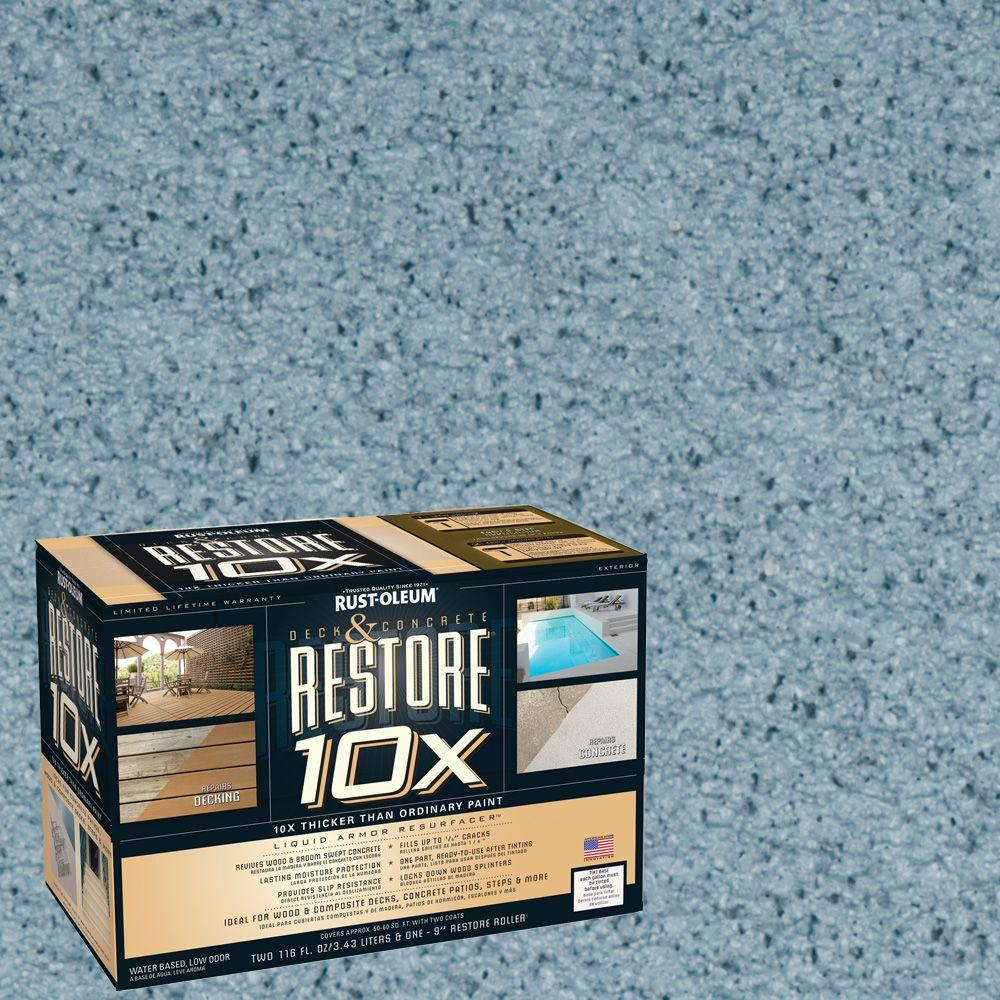Rust-Oleum Restore 2-gal. Porch Deck and Concrete 10X Resurfacer