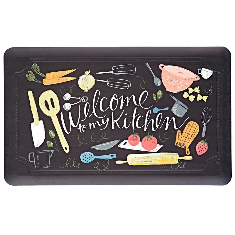 Mohawk Home Scattered Kitchen 18 In. X 30 In. Kitchen Mat