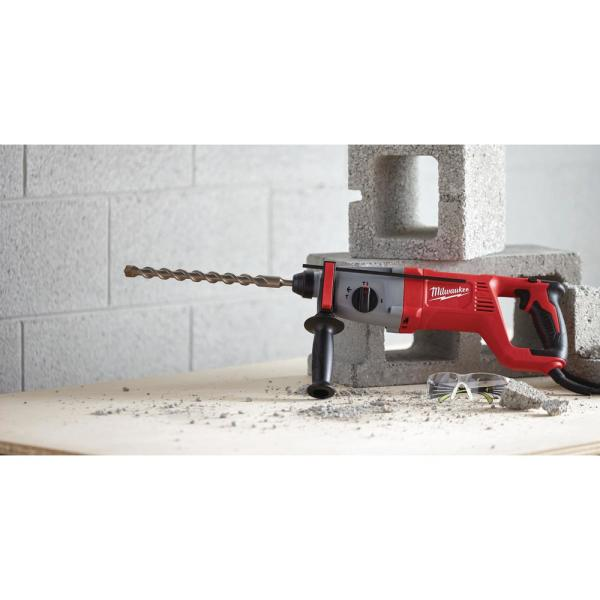 SDS Plus Rotary Hammer Kit W// Case  8.0 Amp NEW Milwaukee 5262-21 1 in
