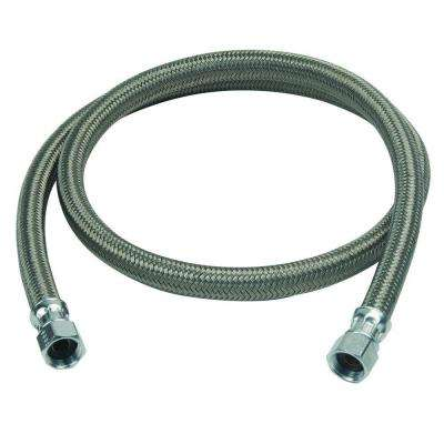 1/2 in. Compression x 1/2 in. Compression x 48 in. Braided Polymer Dishwasher Connector