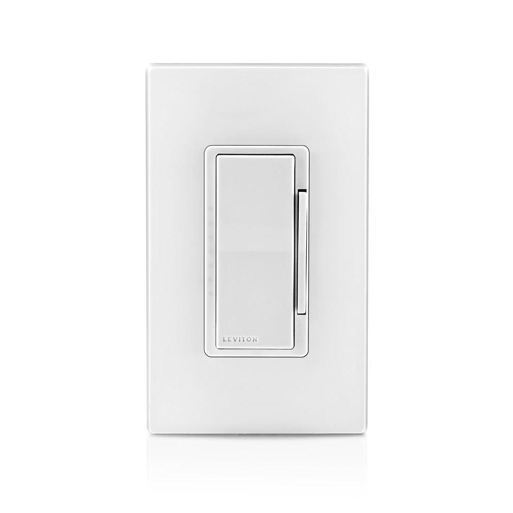 Leviton Decora Dimmer/Timer with Bluetooth Technology, White-R00 ...