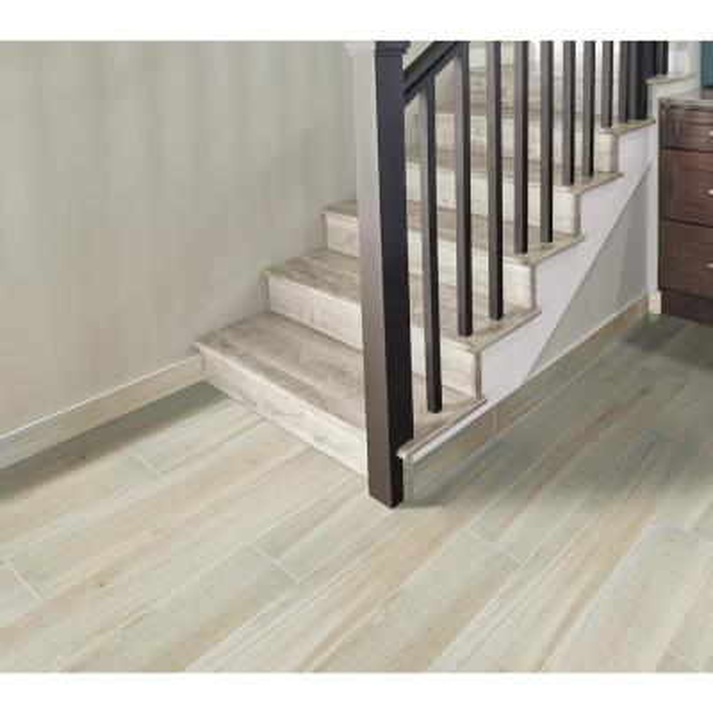 Benson Park 6 in. x 36 in. Matte Porcelain Floor and Wall Tile (13.50 sq. ft. / case)
