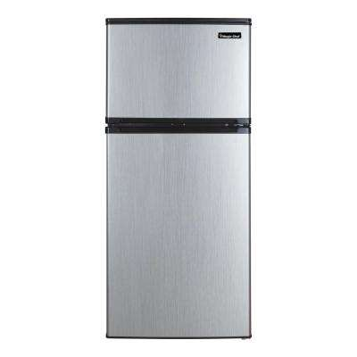 4.3 cu. ft. Mini Refrigerator in Stainless Look