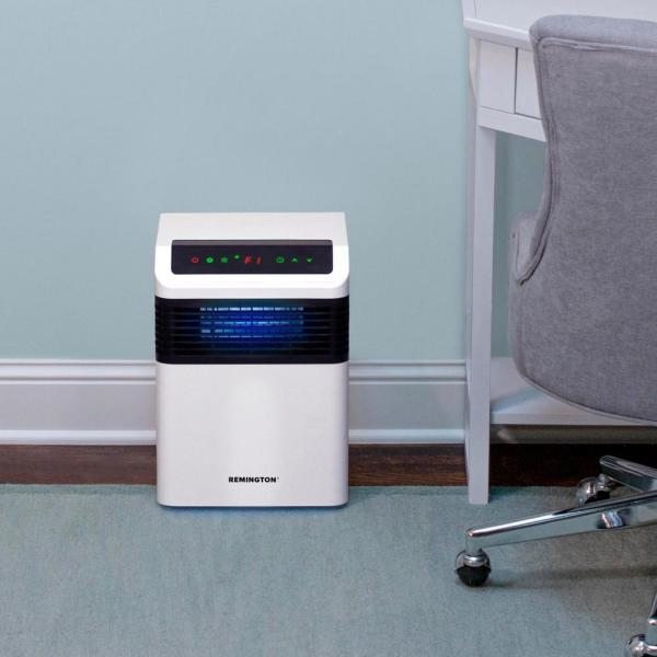 Remington Airetrex 365 Home Air Purifier With Uv C Technology Rem 7365uv 120 The Home Depot
