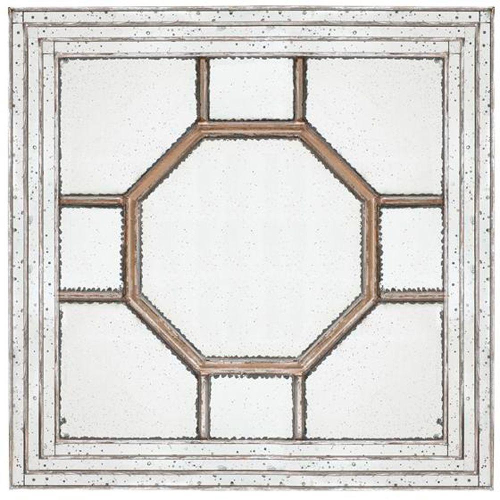 Home Decorators Collection Josephine 48 in. H x 48 in. W Framed Wall Mirror