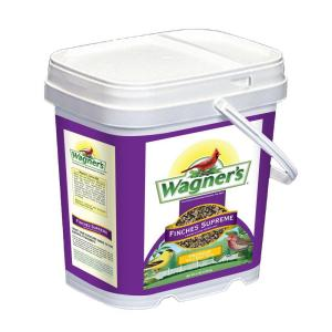 Wagner's 9.5 lb. Finches Supreme Wild Bird Food Bucket by Wagner's