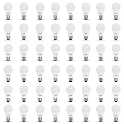 40-Watt Equivalent A19 Dimmable CEC Title 24 Compliant LED ENERGY STAR 90+ CRI Light Bulb, Bright White (48-Pack)